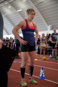 In action at London Throwdown