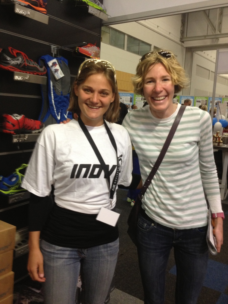 inov-8 rep (left) and Camille