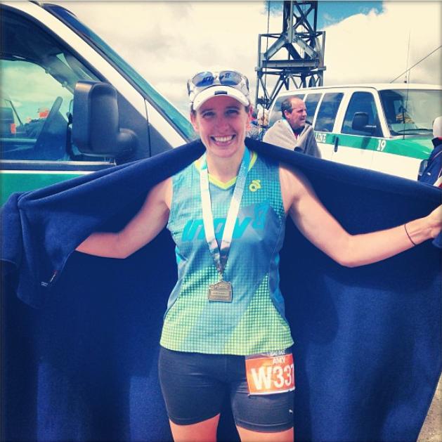Amy Washington finish