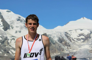 Robbie Simpson, who is mixing it at the sharp end with Europe's best mountain runners