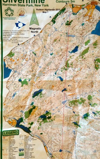 Alex Jospe Highlander Race Map