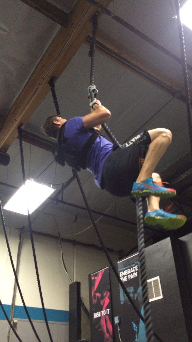 Rope climb 3