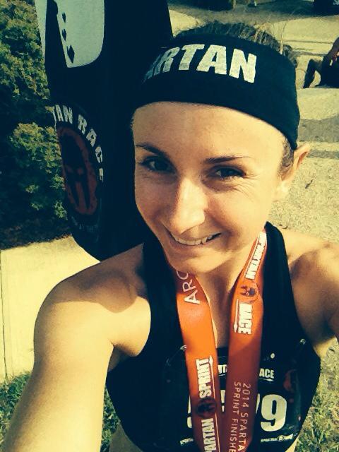 Spartan Race selfie