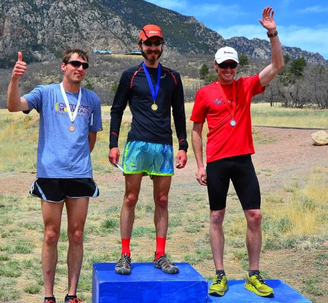 Cheyenne 25k podium