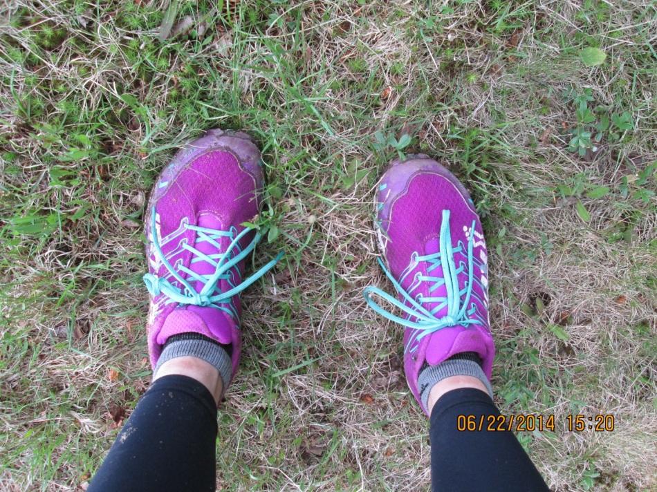 Amy race ultra on feet